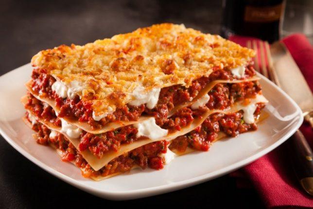 Lasagne - populær hos store og små